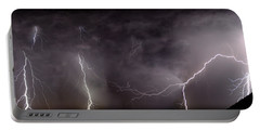Lightning Over Perris Portable Battery Charger