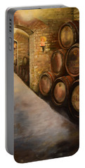 Lights In The Wine Cellar - Chateau Meichtry Vineyard Portable Battery Charger