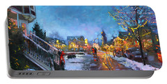 Lights On Elmwood Ave Portable Battery Charger