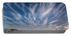 Portable Battery Charger featuring the photograph Like Feathers In The Sky by Arik Baltinester
