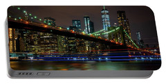 Portable Battery Charger featuring the photograph Like Ships In The Night by Chris Lord