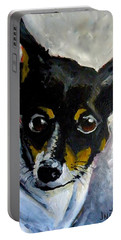 Lil Rat Terrier Portable Battery Charger