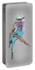 Lilac Breasted Roller Portable Battery Charger