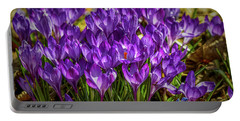 Lilac Crocus #g2 Portable Battery Charger