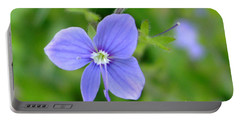 Lilac Flower Portable Battery Charger