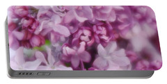 Portable Battery Charger featuring the photograph Lilac - Lavender by Diane Alexander