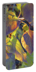 Lilac Leaves Portable Battery Charger