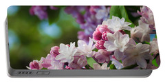 Lilacs Of Spring Portable Battery Charger