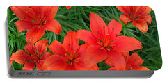 Lilies At Kathy Portable Battery Charger