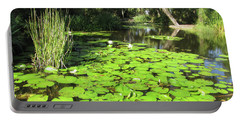 Lilies Of Bok Gardens Portable Battery Charger