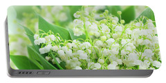 Lilly Of The Valley II Portable Battery Charger