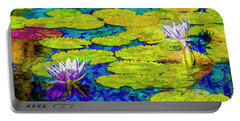 Portable Battery Charger featuring the photograph Lilly by Paul Wear