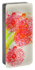 Portable Battery Charger featuring the digital art Lilly Pilly by Asok Mukhopadhyay