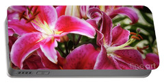Lily At Dusk Portable Battery Charger