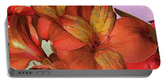 Lily Bouquet In North Light Portable Battery Charger