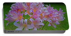 Lily Lavender Portable Battery Charger