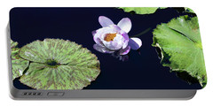 Portable Battery Charger featuring the photograph Lily Love II by Suzanne Gaff