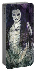 Lily Munster Portable Battery Charger