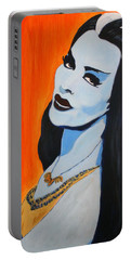 Lily Munster - Yvonne De Carlo Portable Battery Charger