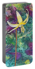 Lily Portable Battery Charger by Nancy Jolley