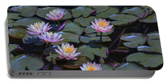 Lily Of The Night Portable Battery Charger