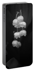 Lily Of The Valley Portable Battery Charger by Tim Good