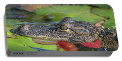 Lily Pad Gator Portable Battery Charger