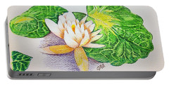 Lily Pad Portable Battery Charger by J R Seymour