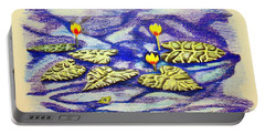 Lily Pad Pond Portable Battery Charger