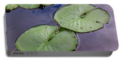 Lily Pad Reflections Portable Battery Charger