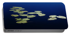 Portable Battery Charger featuring the photograph Lily Pads Floating On River by Debbie Oppermann