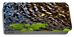 Portable Battery Charger featuring the photograph Lily Pads On First Lake by David Patterson