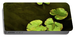 Portable Battery Charger featuring the photograph Lily Pond by Jessica Manelis