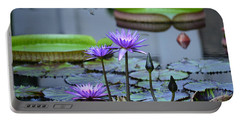 Lily Pond Wonders Portable Battery Charger