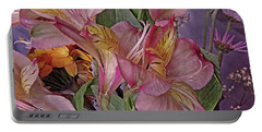 Lily Profusion 7 Portable Battery Charger by Lynda Lehmann