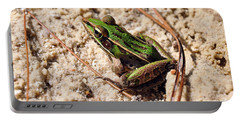 Portable Battery Charger featuring the photograph Lime-like by Al Powell Photography USA