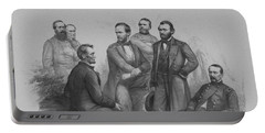 Lincoln And His Generals Portable Battery Charger