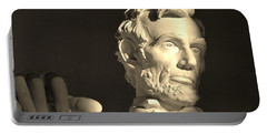 Lincoln At Sunrise Portable Battery Charger