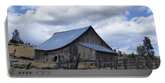 Lincoln County Barn Portable Battery Charger
