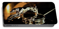 Lincoln Greyhound Hood Ornament Portable Battery Charger