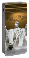 Lincoln Memorial 2 Portable Battery Charger
