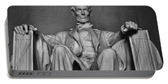 Lincoln Memorial Portable Battery Charger by Kyle Hanson