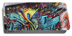 Portable Battery Charger featuring the painting Lincoln Street by Sheila Mcdonald