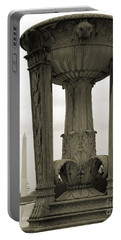 Portable Battery Charger featuring the photograph Lincoln To Washington by Angela DeFrias