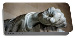 Lincoln's Left Hand Portable Battery Charger by Christopher Holmes
