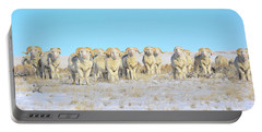 Line Em Up Rams Portable Battery Charger