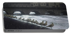 Line Of Birds Portable Battery Charger