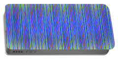 Portable Battery Charger featuring the digital art Lines 103 by Bruce Stanfield