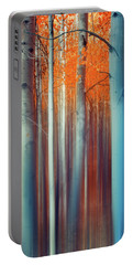 Lines Of Autumn Portable Battery Charger