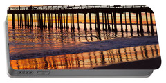 Sunset Seacliff Shadows Portable Battery Charger